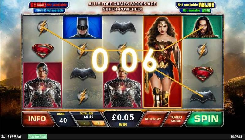 Justice League PlayTech Slot Slot Reels