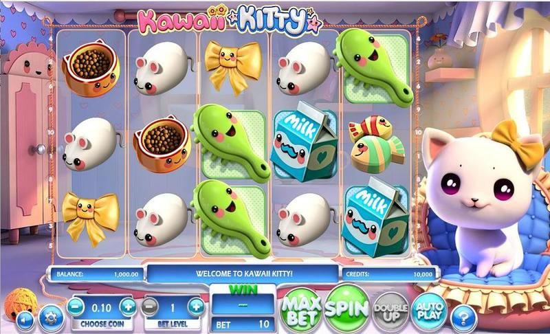 Kawaii Kitty Betsoft Slot Slot Reels