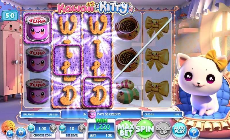 Kawaii Kitty Betsoft Slot Winning