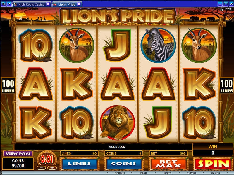 Lion's Pride Slot Review & Free Online Casino Demo Game