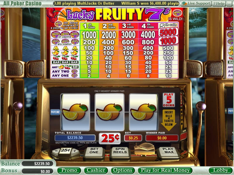Liberty 7s Slots - Play this WGS Casino Game Online