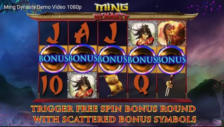 Ming Dynasty 2 by 2 Gaming Slot Free Spins Feature