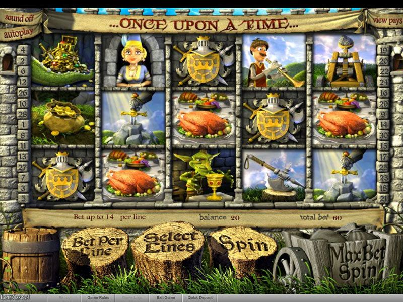 Once Upon a Time Slot - BetSoft - Free Spins, Instant Win, Pick a