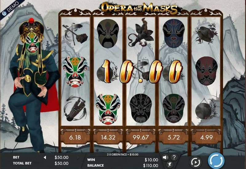 Opera of the Masks Genesis Slot Main