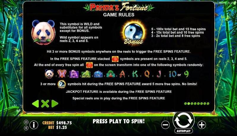 Panda's Fortune Pragmatic Play Slot Bonus 1