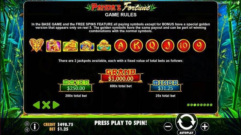 Panda's Fortune Pragmatic Play Slot Bonus 3