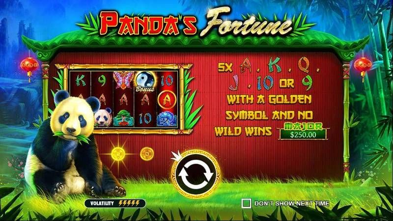 Panda's Fortune Pragmatic Play Slot Info