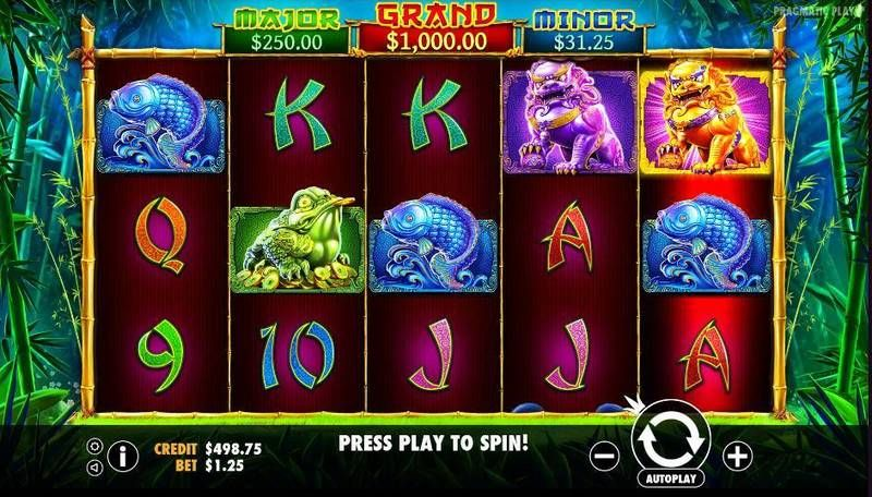 Panda's Fortune Pragmatic Play Slot Slot Reels