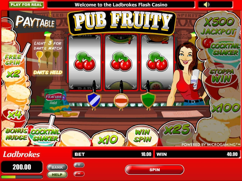 Down the Pub Slot Machine - Play for Free Instantly Online