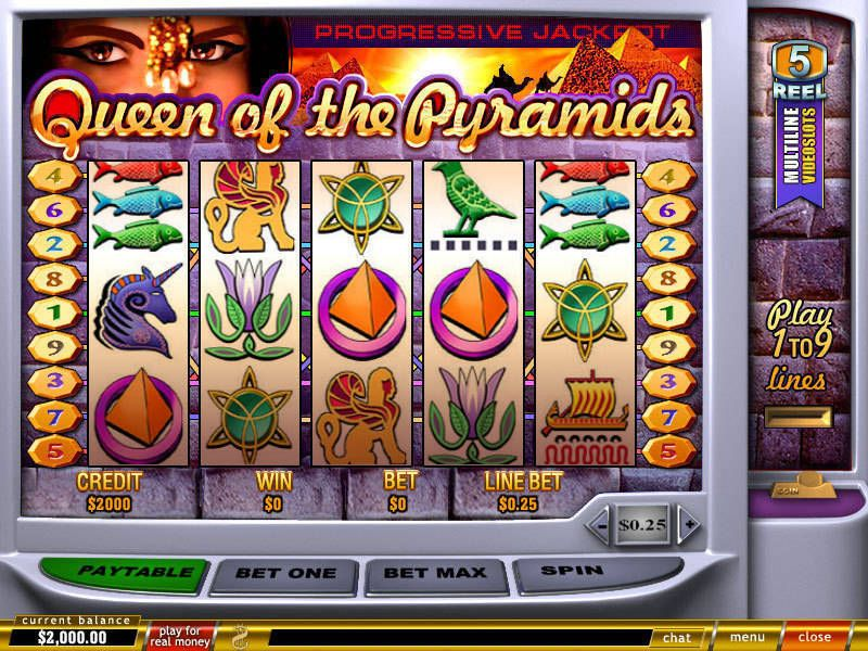 Play Queen of Pyramids Slots Online at Casino.com Canada