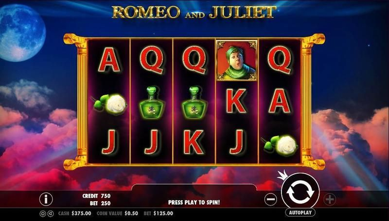Romeo and Juliet Pragmatic Play Slot Slot Reels