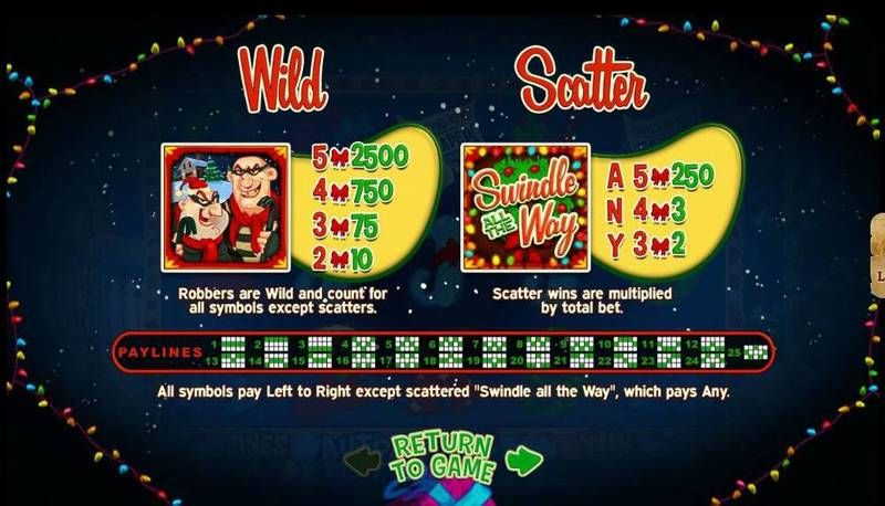 Swindle All The Way RTG Slot Bonus 1