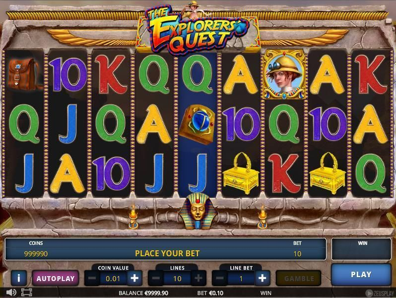 The Explorer's Quest Zeus Play Slot Slot Reels