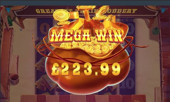 The Greatest Train Robbery Red Tiger Gaming Slot Winning