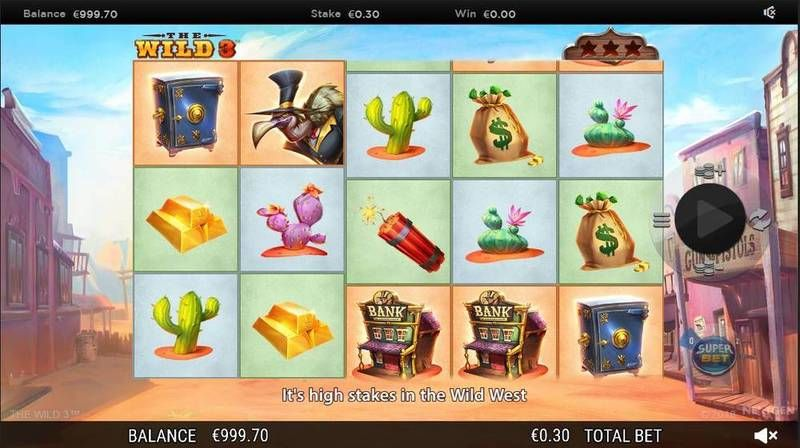 The Wild 3 NextGen Gaming Slot Slot Reels