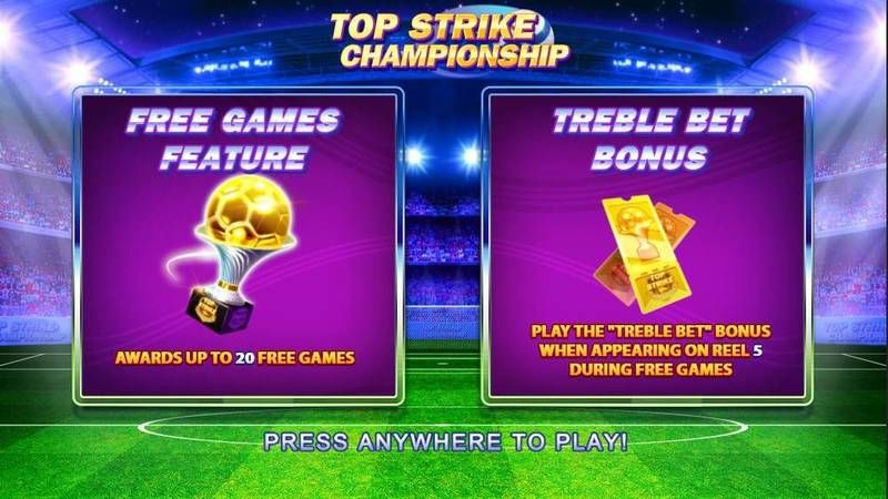 Top Strike Championship NextGen Gaming Slot Bonus 1