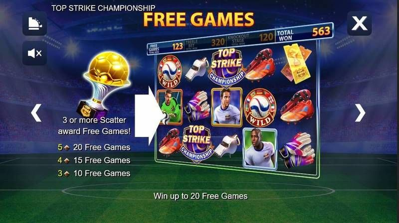 Top Strike Championship NextGen Gaming Slot Bonus 2