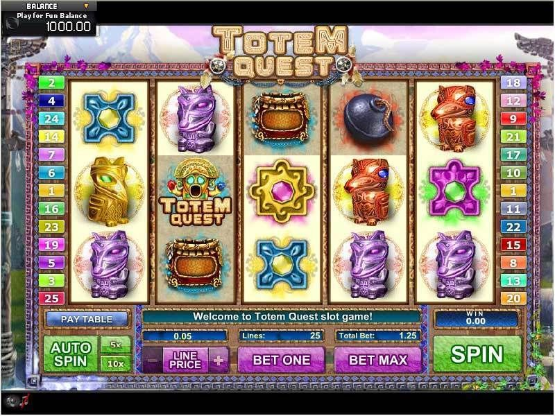Totem Quest GamesOS Slot Slot Reels