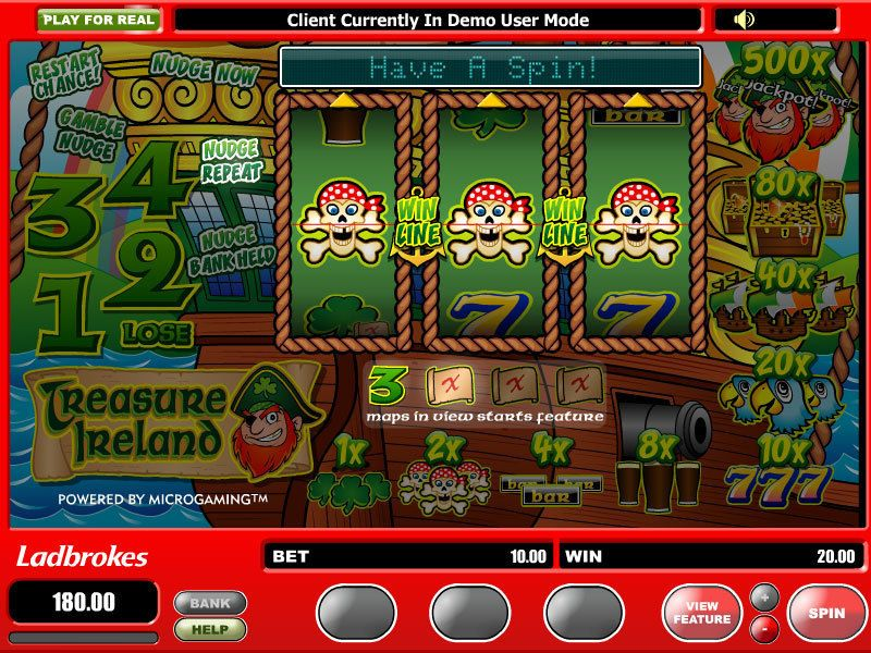 Treasure Ireland Slot Machine - Play Online for Free Now