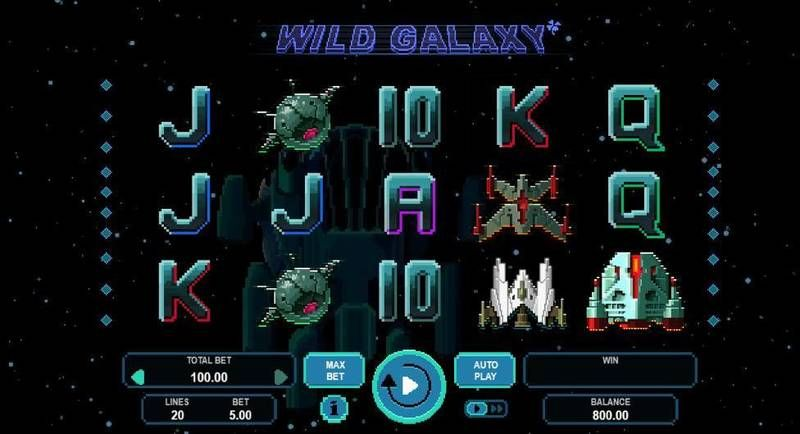 Wild Galaxy Booongo Slot Main