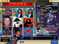 Bill and Ted's Excellent Adventure Microgaming slots reels