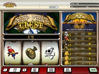 Dead Mans Chest 1 Line  Parlay  slots reels