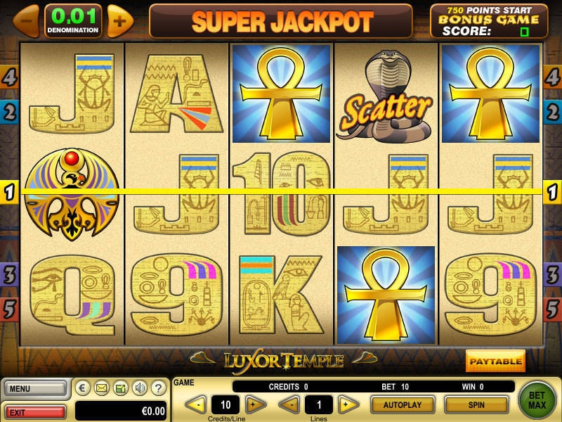 Luxor Valley Slot Machine - Play Now for Free or Real Money