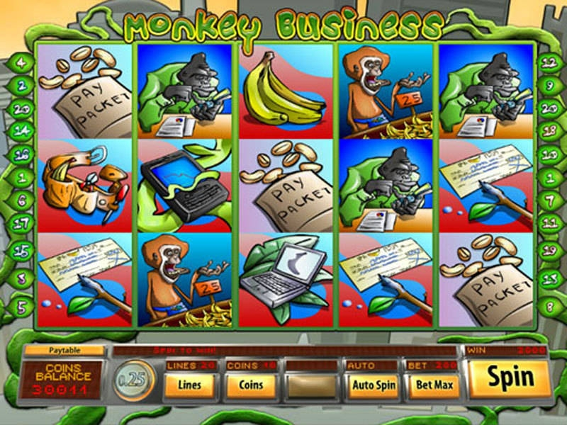 Monkey Business Slot Machine Online ᐈ Saucify™ Casino Slots